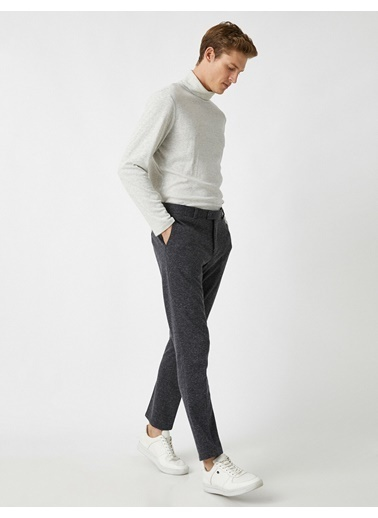 Koton Trousers Lacivert